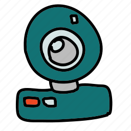 chat, multimedia, share, video, view, webcam icon