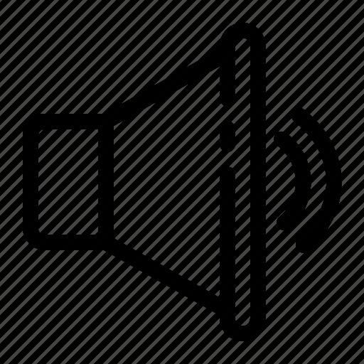 Audio, multimedia, music, sound, speaker, volume icon - Download on Iconfinder