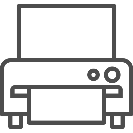 device, document, gadget, paper, print, printer, technology icon