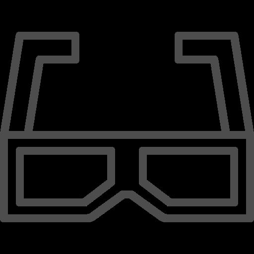 avatar, eyeglasses, glasses, glasses 3d icon, sunglasses, view, vision icon