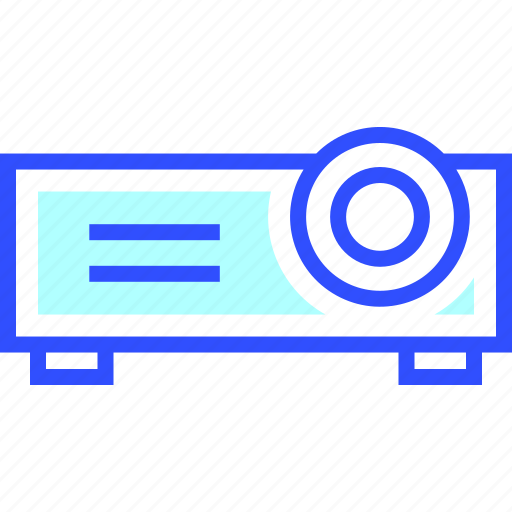 device, electronic, entertainment, gadget, multimedia, play, projector icon
