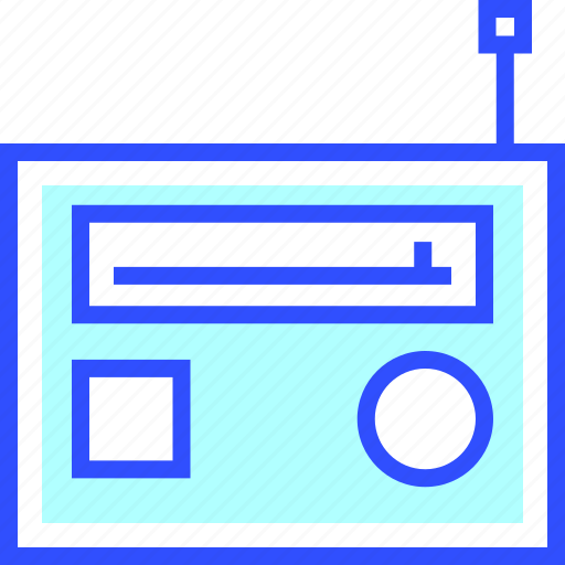 audio, device, electronic, entertainment, gadget, multimedia, radio icon