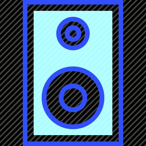 device, electronic, entertainment, gadget, multimedia, sound, speaker icon