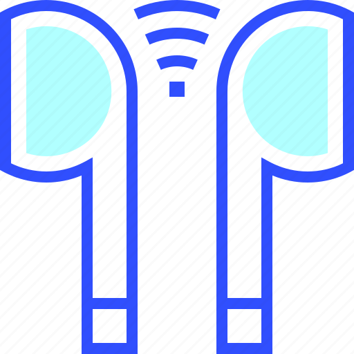 device, earphone, electronic, entertainment, gadget, multimedia, wireless icon