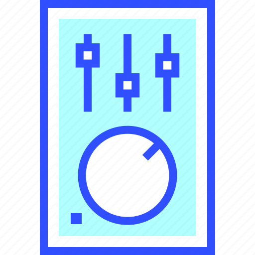 audio, controller, device, electronic, entertainment, gadget, multimedia icon