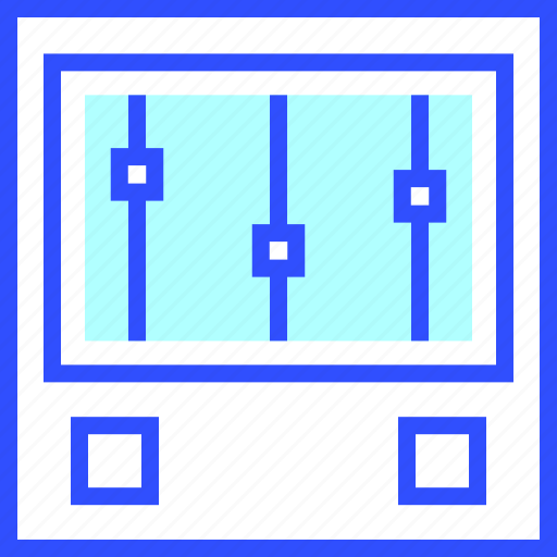 device, electronic, entertainment, equalizer, gadget, multimedia, play icon