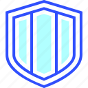 entertainment, games, play, shield icon