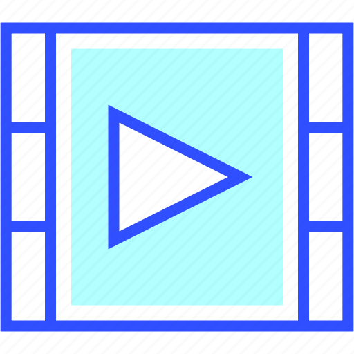 device, electronic, entertainment, gadget, multimedia, play, video icon