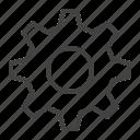 cog, gear, settings, toolbar icon