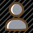 avatar, color, filled, multimedia, people, portrait, profile icon