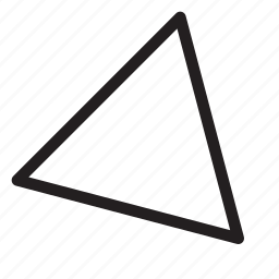 bottom-right, corner, direction, down-right, navigation, southeast, triangle icon
