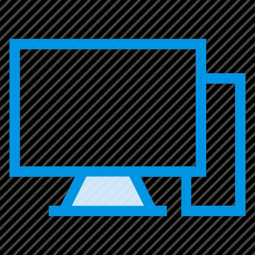 computer, desktop, device, monitor, pc, technology, windows icon