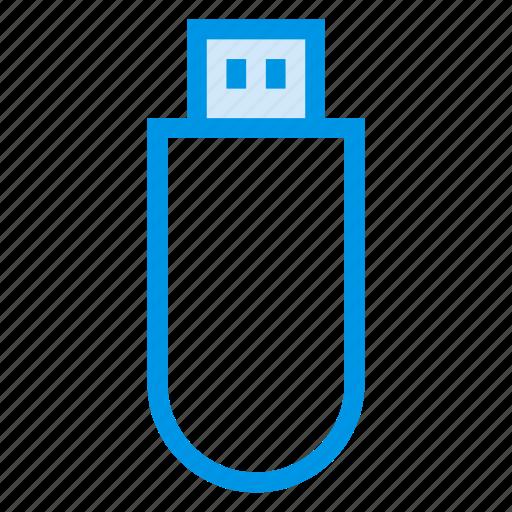 data, drive, flash, memory, storage, transfer, usb icon