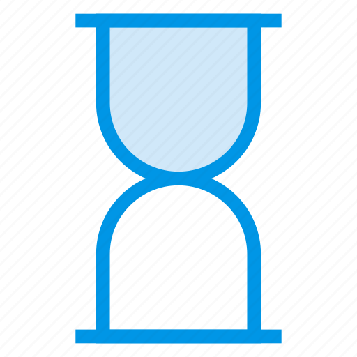 clock, deadline, glass, hourglass, time, timer, waiting icon