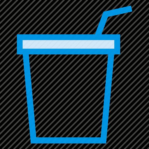 drink, food, glass, juice, lemon, soda, water icon