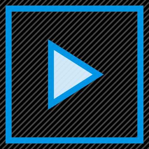 interface, media, play, sound, toy, ui, video icon