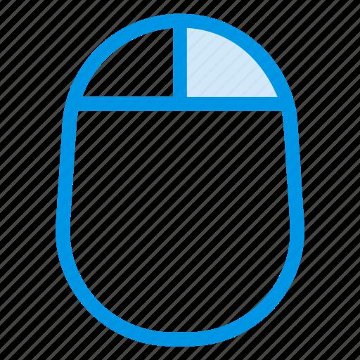 click, control, cursor, interface, mouse, multimedia, technology icon