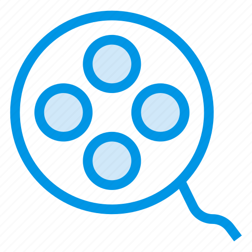 film, movie, moviefilm, record, recording, reel, video icon