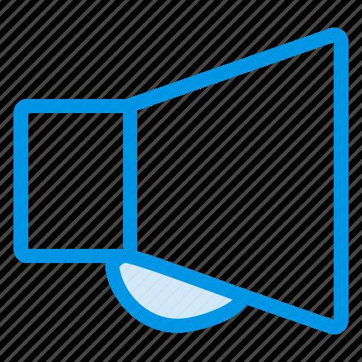 annoucement, pramotion, presentation, speaker, teaching, training, volume icon