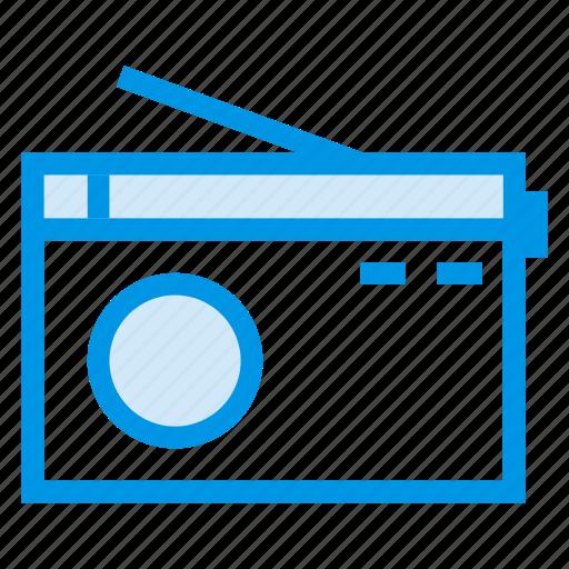 antenna, communication, media, music, player, radio, wave icon