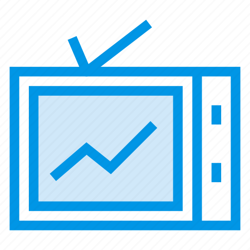 display, entertainment, monitor, movie, television, tv, watching icon