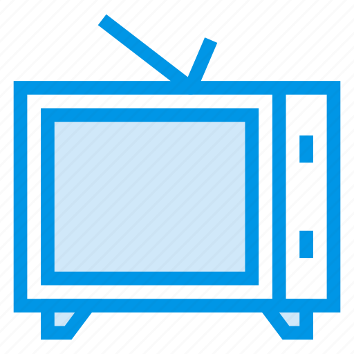 entertainment, film, monitor, movie, television, tv, watching icon