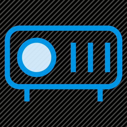 cinema, device, presentation, projection, projector, theatre, video icon