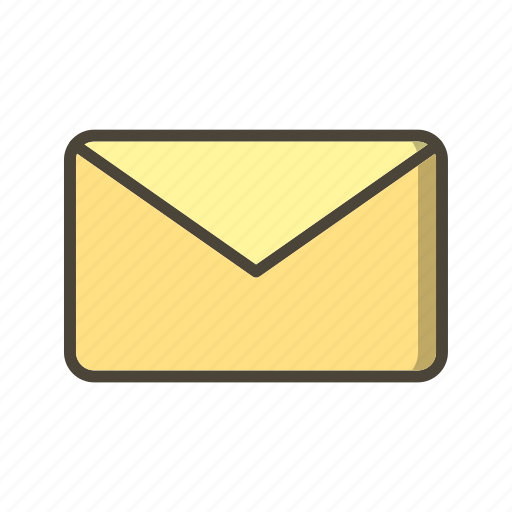 inbox, message, text icon