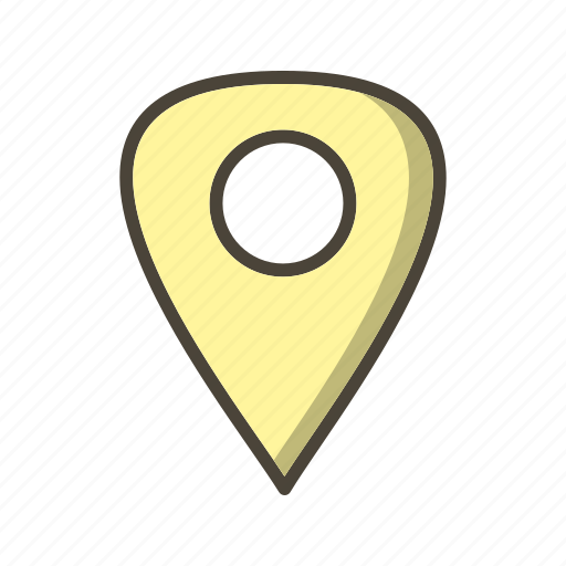 location, pin, place icon