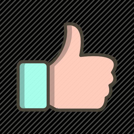 like, thumb up, thumbs up icon