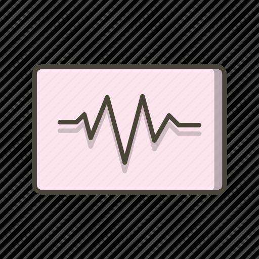 music, sound beat, sound wave icon