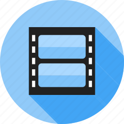 film, music, play, recording, reel, video, video player icon