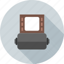 camera, cinema, film, movie, negative, reel, roll icon