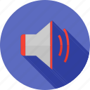 audio, controls, music, sound, speaker, voice, volume icon