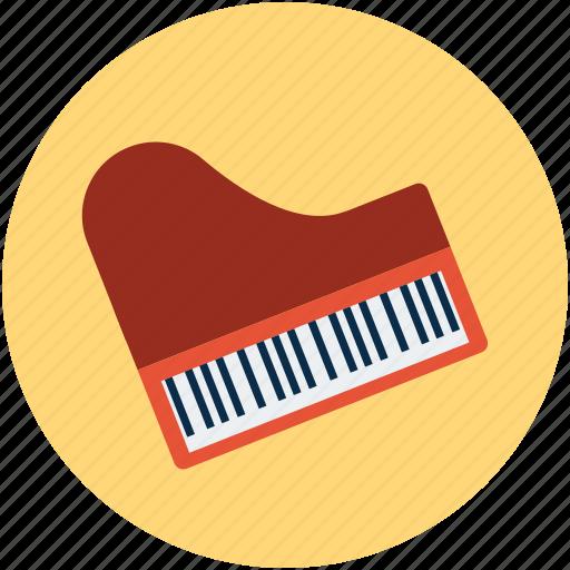 fortepiano, grand piano, instruments, multimedia, musical instruments, piano, piano keyboard, pianoforte icon