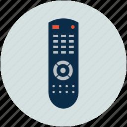 control, handheld control, multimedia, remote, remote control, tv remote icon