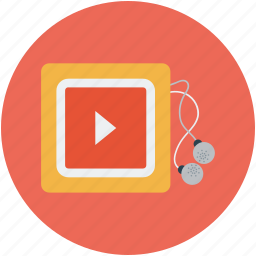 media, media player, multimedia, player, recording, video player icon