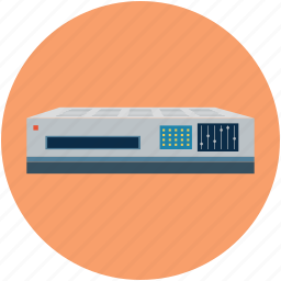 cassette recorder, dvd, dvd player, multimedia, video recorder icon
