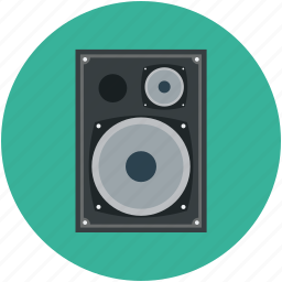 attention, loud, multimedia, music, speaker, woofer icon