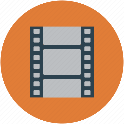 audiovisual, camera reel, film reel, movie reel, multimedia, reel icon