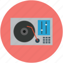 audio, disc, music, player, record, turntable, vinyl icon