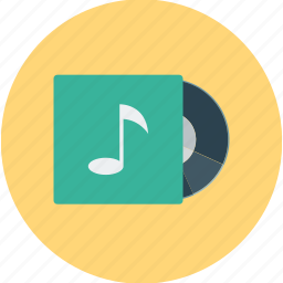 dvd, entertainment, multimedia, music, music player icon