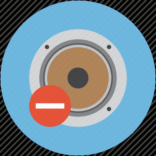 remove audio, remove speaker, remove woofer, sound, speaker devices, speakers, stereo icon