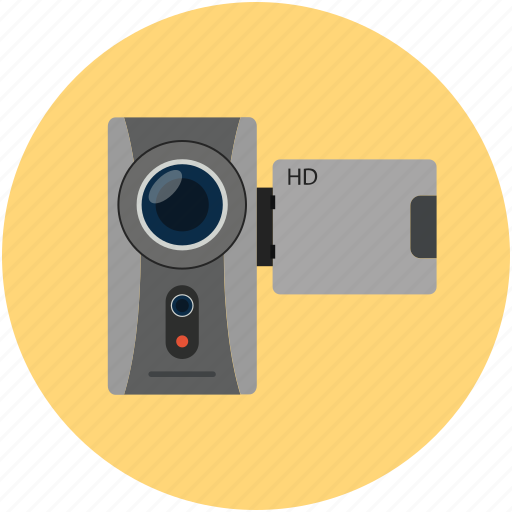 camcorder, camera, handycam, movie camera, video camera, video maker icon
