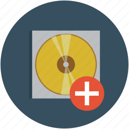 cd, compact disk, data, digital, disk, dvd, record icon