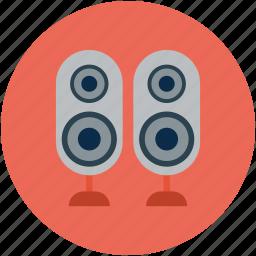 audio, sound, speaker, speaker devices, speakers, woofer icon