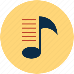 multimedia, music, music design, music wave, sound pitch icon