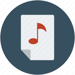 entertainment, multimedia, music, music file, music folder, music player icon