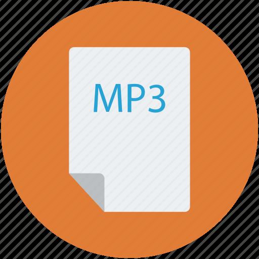 audio, audio file, document, entertainment, music icon