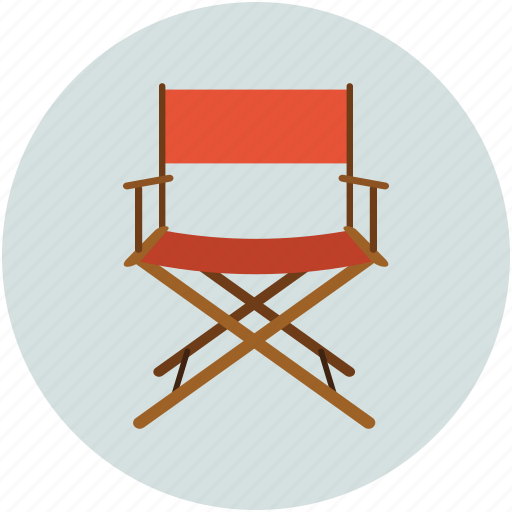 chair, director, entertainment, music, musicians chair, swivel icon